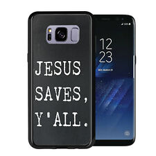 Jesus Saves Y'All For Samsung Galaxy S8 2017 Case Cover by Atomic Market