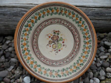Vintage Wall charger /plate or bowl hand made Alfa Del  from Rio studio pottery
