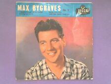 """Max Bygraves No.2 - I Bought Myself An Old Guitar (7"""" EP) p/sleeve DFE 6538"""