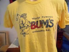 New listing Vintage 1980's Bum'S Columbia S.C. Tee T-Shirt Stedman Label L Usa T-Shirt Euc!