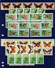St Thomas & Prince Islands #501-506 X (5) (ST567) Comp Flowers & Butterflies