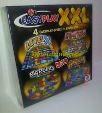 EASY PLAY XXL  4 Spiele Box * LEVEL X + Finito + BIG POINTS + Numeri * RAR + TOP