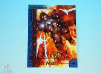 2013 Fleer Marvel Retro Iron Man Autograph Base Card #22 Salvador Larroca Signed
