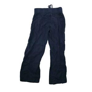 Athleta size 6 Linen Reverie Pants Navy Size Women 29 Inseam 5-23