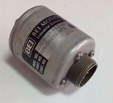BEI MOTION INDUSTRIAL ENCODER H20EB-37-F12-SS-A-3904R-EM16-5V  103368