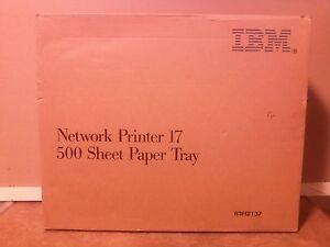 NOS IBM Infoprint 17 printer 500 Sheet Paper Tray 63H2137  IBM 4317-4503