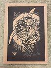 Ghostbusters Terror Dog Laser Cut Kolcut Print Movie Poster Mondo Tyler Stout