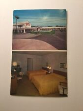 Old Postcard  Joy Motel Somers  Point  New Jersey South Jersey On The Circle