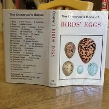 Observers Book Of Birds Eggs 1972: