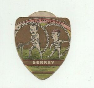 John Baines of Bradford Cricket Card - Surrey 'Our Favourites'