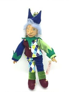 Show Stoppers Jester Doll Zig Collectible Porcelain Hand Painted