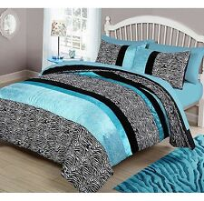 Full Queen Size Bedding Comforter Set For Kids Animal Print Mattress Top Cover
