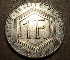 PIECE DE 1 FRANC CHARLES DE GAULLE 1988 (191)