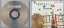 FOUR TET Rounds 2003 UK 10-trk promo CD Kieran Hebden jewel case