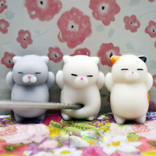 NUOVO Gatto Squishy Stress Relief Mochi giocattolo KAWAII lenta soft Rising Spremere Fun Kids