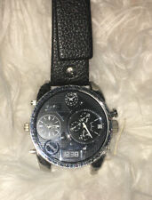 Diesel Men's DZ7125 Black Watch (Missing One Watch Band) Good Condition