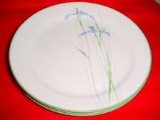 CORELLE SHADOW IRIS LUNCHEON / SALAD PLATES 9 INCH x 4 BRAND NEW WITH LABELS