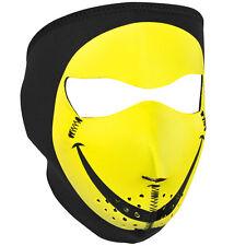 Zan Headgear Neoprene Full-Face Mask, Smiley Face