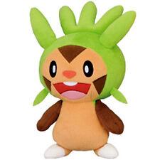 "Pokemon XY Super DX 10"" CHESPIN PLUSH TOY UFO Prize BW Banpresto Kalos Starter"