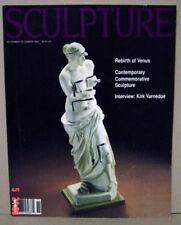 SCULPTURE MAGAZINE Nov-Dec 1990 - Rebirth of Venus, Kirk Varnedoe