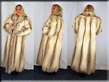 New Golden Island Fox Fur Coat Size 2 Extra Large 2XL Efurs4less