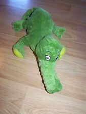 Kohl's Dr. Seuss ABC Collection Green Alligator Plush Stuffed Animal Toy EUC