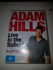 ADAM HILLS - LIVE IN THE SUBURBS COMEDY DVD