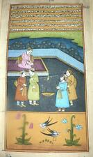 18TH CENTURY INDO-PERSIAN MINIATURE PAINTING FROM MANUSCRIPT BOOK