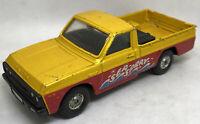 Vintage Corgi Mazda B1600 Pickup Truck Sea Spray Metallic Orange 1/36 Britain