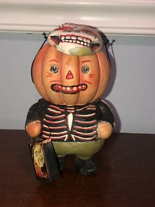 Bethany Lowe Dracula Trick-or-Treater Figure Greg Guedel Halloween rare Retired