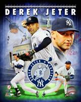 New York Yankees Derek Jeter 8x10 Photo Poster Collage