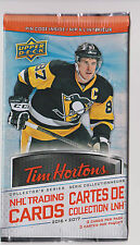 2016 to 2017 Upper Deck Tim Hortons Hockey Cards Unopened Pack(s)