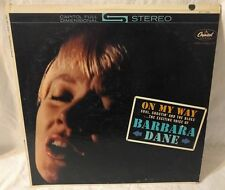 "BARBARA DANE, ON MY WAY on Capitol Records 12"" Vinyl LP Stereo ST 1758 VG+"