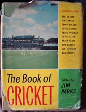 Old vintage The Book of Cricket from England 1962