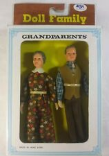 Vintage Doll Family Grandpatents Made In Hong Kong