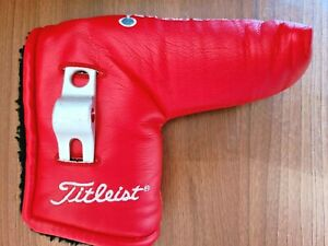 Titleist Scotty Cameron Studio Stainless Blade Putter Headcover with Divot Tool