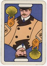 Playing Cards 1 Single Swap Card Old Wide SHELL MOTOR SPIRIT Seashell CHAUFFEUR