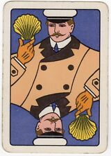 Playing Cards 1 Swap Card Old Antique Wide SHELL MOTOR SPIRIT Seashell CHAUFFEUR