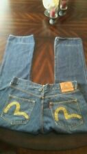 Evisu Jeans Japan button fly Regular Denim Jean size 38 X 42