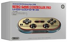 Retro Game Controller PRO Gamepad Bluetooth USB Android iOS Win Mac NES Famicom