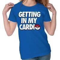 Getting My Cardio Pokemon Go Shirt Pikachu Gift Pokeball Cute Ladies Tee Shirt T