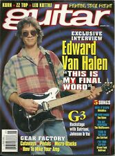 Guitar Magazine January 1997 - Eddie Van Halen - G3 -  Song Transcriptions