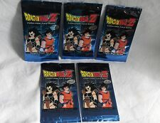 Dragonball Z-Saiyan Saga Series - 5 Booster a 9 Karten,englisch--Neu,OVP,RAR