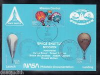 A 41 ) US Card Space Satellite Satellit Space Shuttle Mission