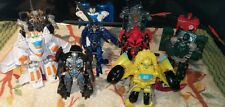 TRANSFORMERS - LOT OF 10 DIFFERENT ACTION FIGURES!  SUPER C@@L COLLECTION!!!
