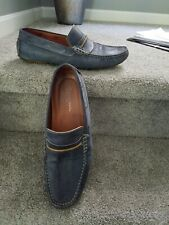 Mens leather loafers shoes size 10