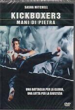 KICKBOXER 3 - MANI DI PIETRA - DVD (NUOVO SIGILLATO)