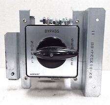 Salzer Rotary Bypass Switch S825-US6834-01GA