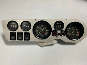 Cluster for Fiat 850 Spider or Abarth 595