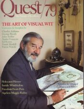 Quest/79 Magazine Addams & Himself Uncle Fester June 1979 032018nonr